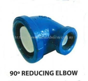 Poly steel 90�� reducing elbow