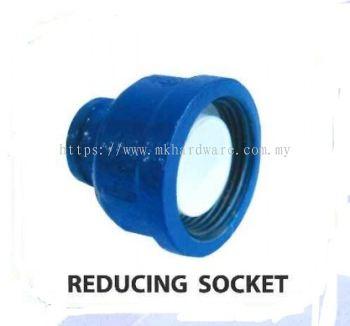Poly steel reducing socket