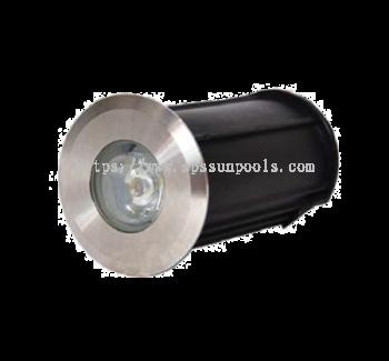 ECOBLU RECESS POOL LIGHT LED 3W/12V FBC-3 SERIES