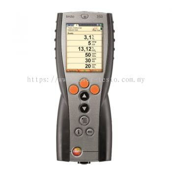 Testo 350 - Control Unit for Exhaust Gas Analysis Systems [SKU 0632 3511]
