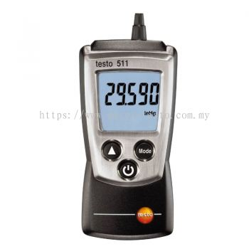 Testo 511 - Pocket-Sized Absolute Pressure Meter [Delivery: 3-5 days]