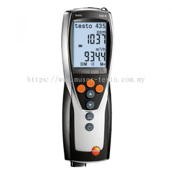 Testo 435-4 - Multifunction Indoor Air Quality Meter [SKU 0563 4354]