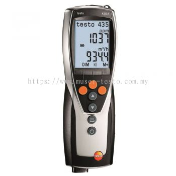 Testo 435-1 - Multi-Function Climate Measuring Instrument [SKU 0560 4351]