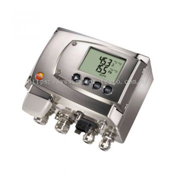 Testo 6381 - Differential Pressure Transmitter with Flow Calculation [SKU 0555 6381]