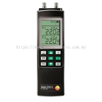 Testo 312-4 - Differential Pressure Measuring Instrument [SKU 0632 0327]