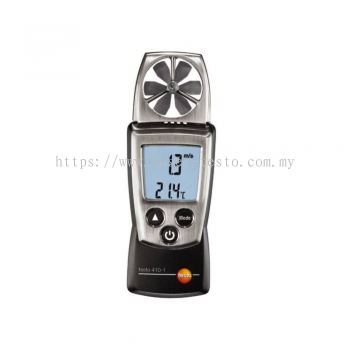 Testo 410-1 - Vane Anemometer [Delivery: 3-5 days]