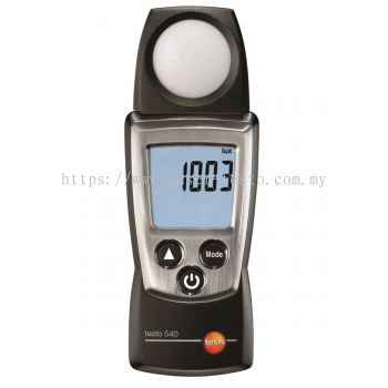 Testo 540 - Light Meter [Delivery: 3-5 days]