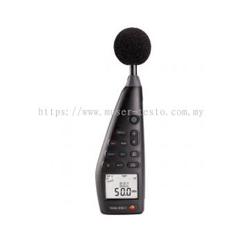 Testo 816-1 - Sound Level Meter [Delivery: 3-5 days]