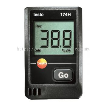 Testo 174 H - Temperature and Humidity Mini Data Logger [Delivery: 3-5 days]