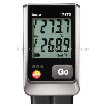 Testo 175 T3 - Temperature Logger [Delivery:3-5 days subject to availability]