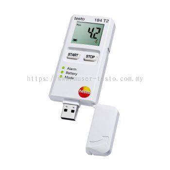 Testo 184 T2 - Temperature Data Logger for Transport Monitoring [SKU 0572 1842]