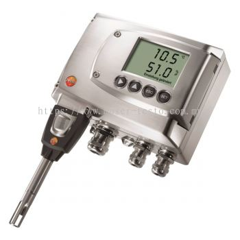 Testo 6681 - Temperature/Humidity Transmitter for Critical Applications [SKU 0555 6681]