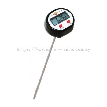 Testo - Mini Penetration Thermometer with Extended Probe Shaft [Delivery: 3-5 days subject to availability]
