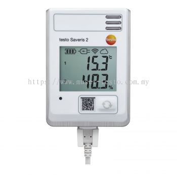 testo Saveris 2-H1 - WiFi Data Logger with Display and Integrated Temperature and Humidity Probe [Delivery: 3-5 days]