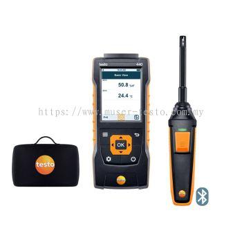 testo 440 | Humidity Kit with Bluetooth® [SKU 0563 4404]