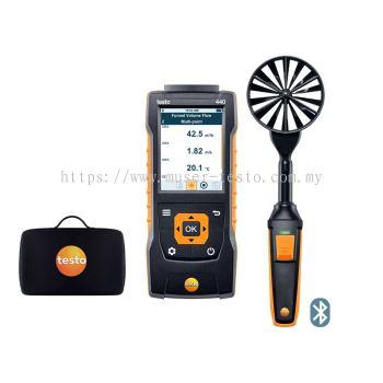 testo 440 | 100 mm Vane Kit with Bluetooth® [SKU 0563 4403]