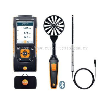 testo 440 | ComboKit 1 Air Flow with Bluetooth® [SKU 0563 4406]