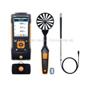 testo 440 | ComboKit 2 Air Flow with Bluetooth® [SKU 0563 4407]