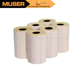 Testo 0554 0561 Self-adhesive Label Thermal Paper Roll (pk/6)