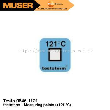 testoterm (+121 ��C) Measuring Points