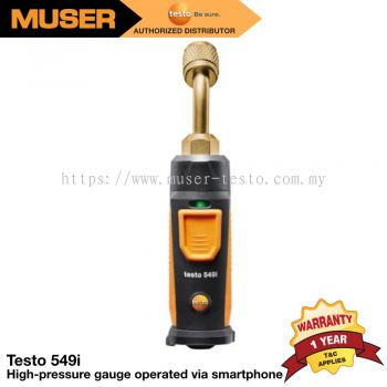 testo 549i - High-pressure gauge operated via smartphone