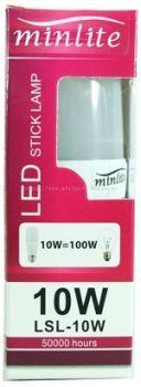 MINLITE LSL 10W LED STICK LAMP B22 6500K