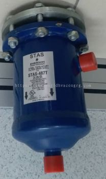 EMERSON STEEL TAKE-APART FILTER DRIER SHELL STAS-487T