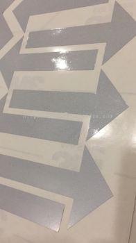 3M Reflective Arrow Cutting Sticker