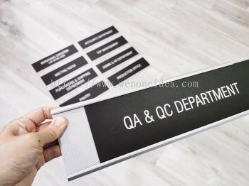 Department Door Slot In Sign
