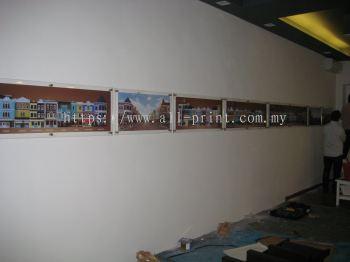 agacia land - acrylic signage