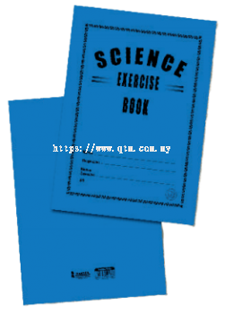 CARD COVER BOOK (SCIENCE EXERCISE)