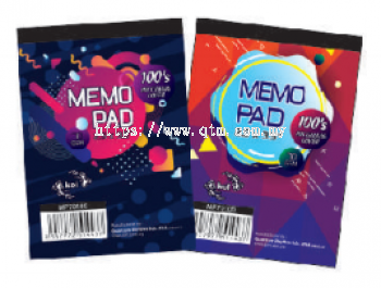 MEMO PAD (TOP OPEN)
