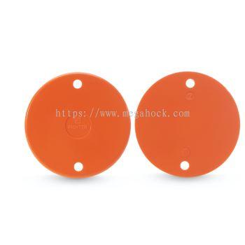 Lid Cover (Screw) (Orange)