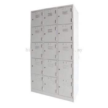 9 / 12 / 15 / 18 Compartment Steel Locker