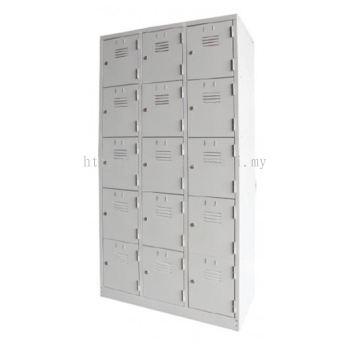 9 / 12 / 15 / 18 Compartment Steel Locker