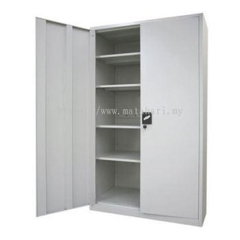 Full Height Cupboard with Steel Sliding Door C/W 3 Adjustable Shelves