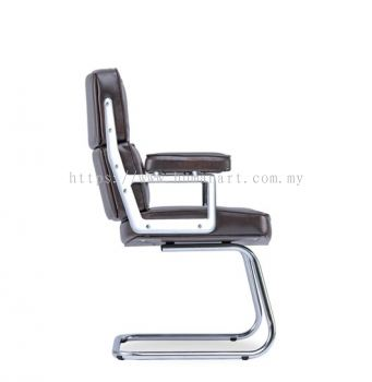 MODE DIRECTOR HIGH BACK CHAIR C/W CHROME CANTILEVER BASE
