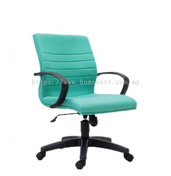 BONA STANDARD LOW BACK CHAIR C/W POLYPROPYLENE BASE