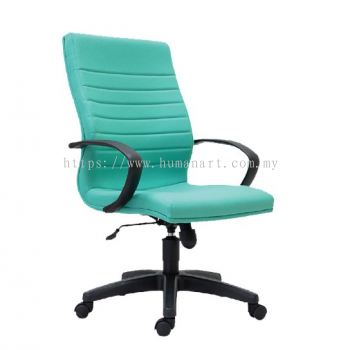 BONA STANDARD MEDIUM BACK CHAIR C/W POLYPROPYLENE BASE
