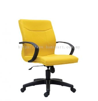 LARIX STANDARD LOW BACK CHAIR C/W POLYPROPYLENE BASE
