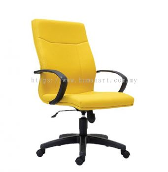 LARIX STANDARD MEDIUM BACK CHAIR C/W POLYPROPYLENE BASE