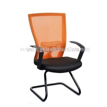 ADORA VISITOR ERGONOMIC MESH CHAIR WITH EPOXY BLACK CANTILEVER BASE ABV-A3