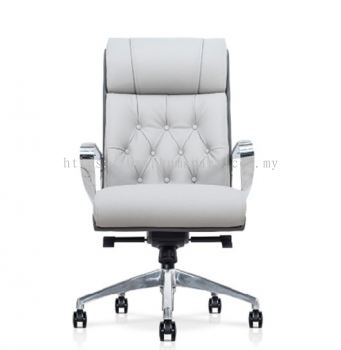 CALEN DIRECTOR HIGH BACK PU CHAIR C/W ROCKET ALUMINIUM BASE