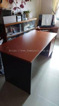 DELIVERY INSTALLATION RECTANGULAR WRITING TABLE OFFICE FURNITURE SUBANG JAYA