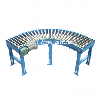 90deg Motorised Roller Conveyor