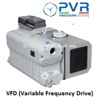 PVR EU VFD (Variable Frequency Drive) Series single-stage oil rotary vane vacuum pumps