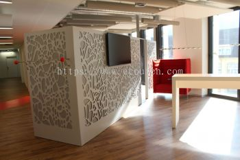 Acoustic Panel Partition Wall