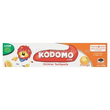 KODOMO CHILDREN TOOTHPASTE ORANGE 80G