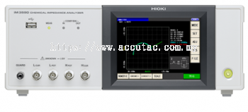 HIOKI CHEMICAL IMPEDANCE ANALYZER   IM3590