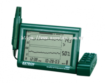 RH520A: Humidity+Temperature Chart Recorder with Detachable Probe